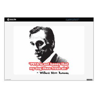 "Mitt Happens 15"" Laptop Decal"