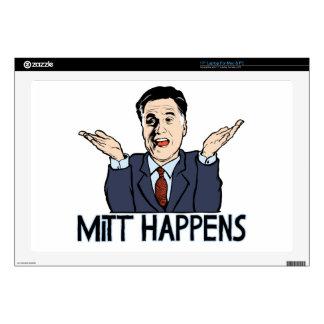 Mitt Happens Decals For Laptops