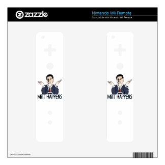 Mitt Happens Decal For The Wii Remote