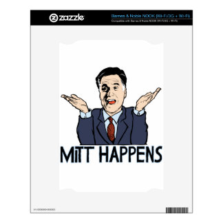 Mitt Happens Skins For The NOOK