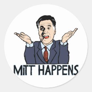 Mitt Happens Stickers
