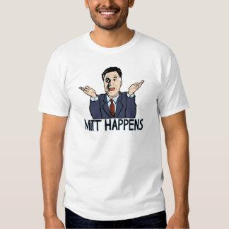 Mitt Happens T Shirt