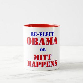 Mitt Happens Two-Tone Coffee Mug