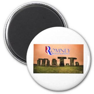 Mitt Henge - Romney, Believe in America 2 Inch Round Magnet