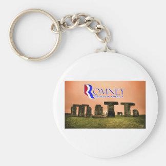 Mitt Henge - Romney, Believe in America Keychain