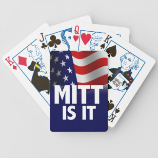 Mitt Is It - Romney Ryan 2012 Bicycle Playing Cards