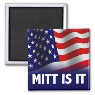 Mitt Is It - Romney Ryan 2012 Magnet