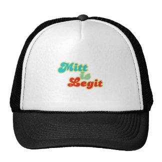 MITT-IS-LEGIT TRUCKER HAT