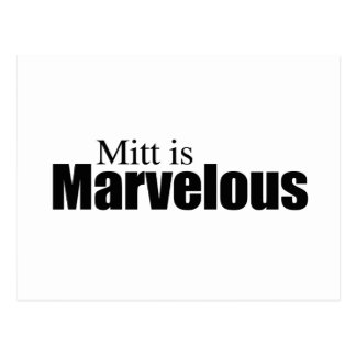 MITT IS MARVELOUS png Post Card