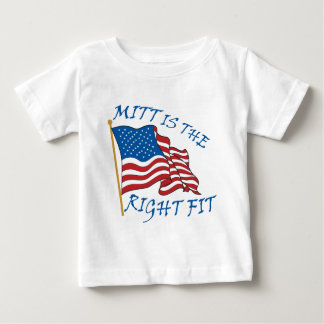 mitt is the right fit baby T-Shirt