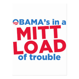 Mitt Load Postcard