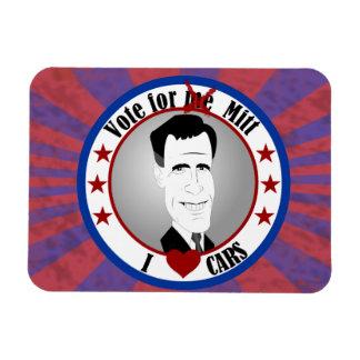 Mitt Loves Cars Premium Magnet