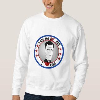 Mitt Loves Cars Sweatshirt