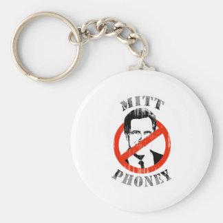 MITT PHONEY.png Basic Round Button Keychain