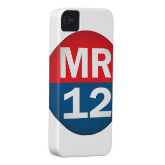 Mitt Romney 12 iPhone 4 Case