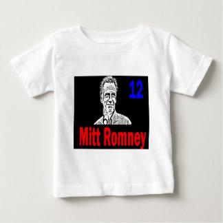 Mitt Romney 12 Playera De Bebé