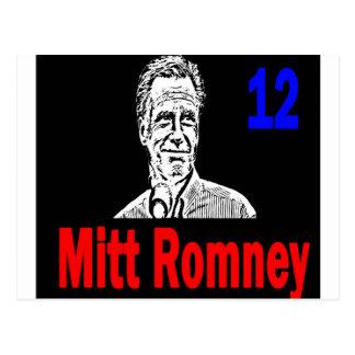 Mitt Romney 12 Postcard