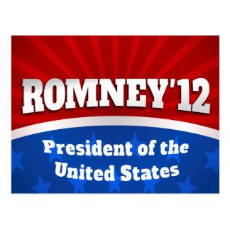 Mitt Romney '12 Postal