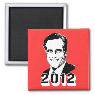Mitt Romney 2012 2 Inch Square Magnet