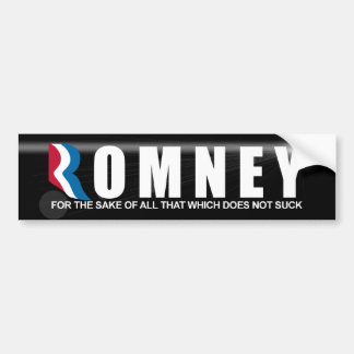 Mitt Romney 2012 - Anti Obama Bumper Sticker