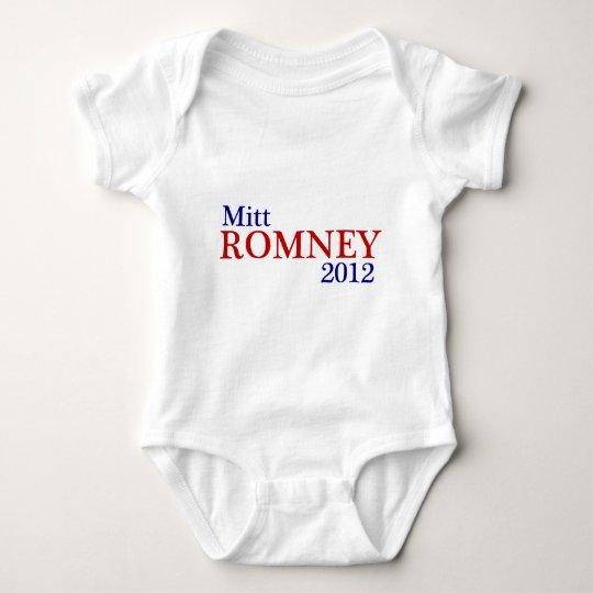 Mitt Romney 2012 Baby Bodysuit