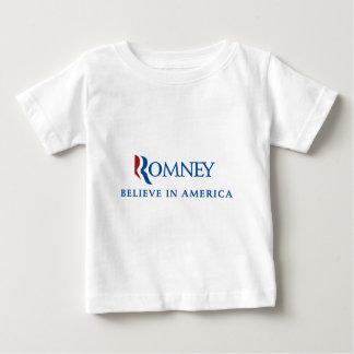 Mitt Romney 2012 Baby T-Shirt