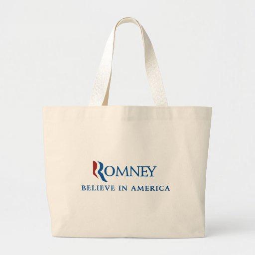 Mitt Romney 2012 Canvas Bag