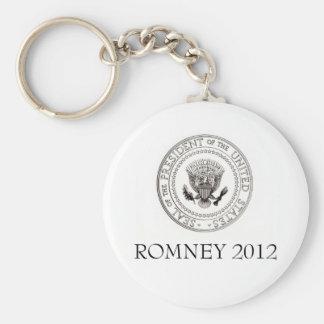 Mitt Romney 2012 Basic Round Button Keychain