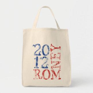 Mitt Romney 2012 Bolsa Tela Para La Compra