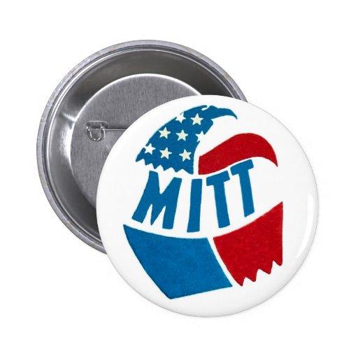 Mitt Romney 2012 Pinback Buttons
