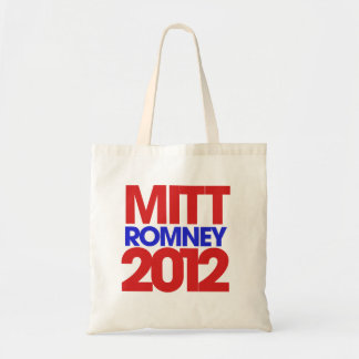 Mitt Romney 2012 Canvas Bags