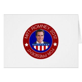 Mitt Romney 2012 Card