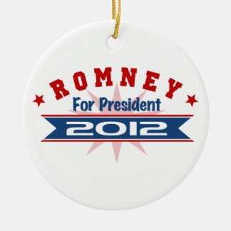 Mitt Romney 2012 Ceramic Ornament