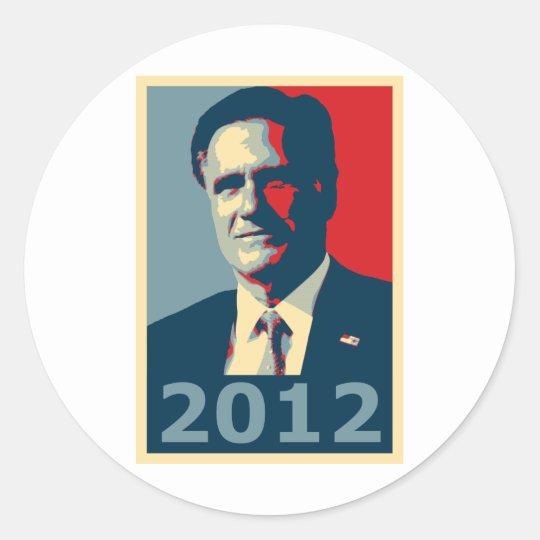 Mitt Romney - 2012 Classic Round Sticker