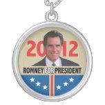 Mitt Romney 2012 Colgante Redondo