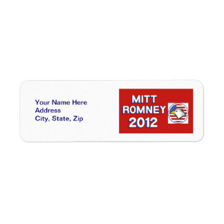 Mitt Romney 2012 Eagle Labels