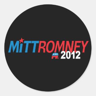 Mitt Romney 2012 Etiqueta