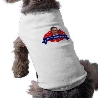 Mitt Romney 2012 for President Doggie Tshirt