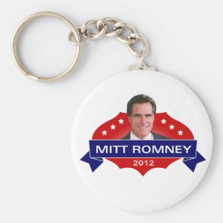 Mitt Romney 2012 for President Key Chain