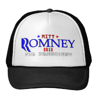 Mitt Romney 2012 for President.png Trucker Hat