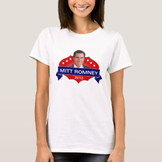 Mitt Romney 2012 for President T-Shirt