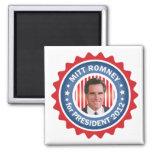 Mitt Romney 2012 for US President Fridge Magnets