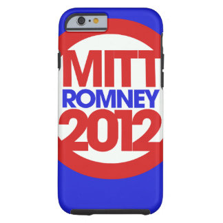 Mitt Romney 2012 Funda De iPhone 6 Tough