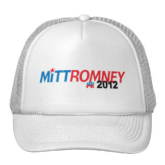 Mitt Romney 2012 Mesh Hat