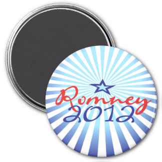 Mitt Romney 2012 Imán Redondo 7 Cm
