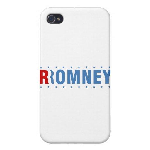 Mitt Romney 2012 iPhone 4 Protectores