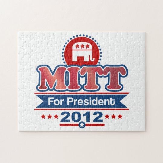 Mitt Romney 2012 Jigsaw Puzzle