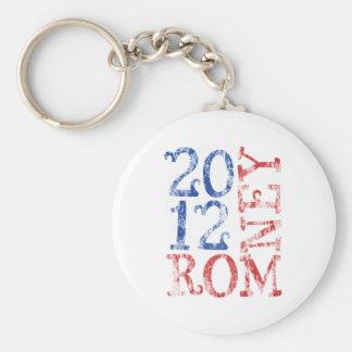Mitt Romney 2012 Llaveros Personalizados