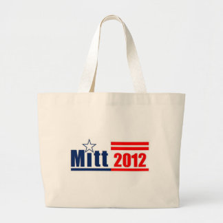 "Mitt Romney 2012 - ""Mitt 2012"" Jumbo Tote Bag"