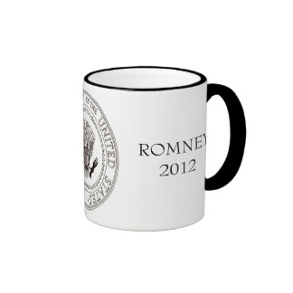 Mitt Romney 2012 Ringer Coffee Mug